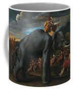 Hannibal Crossing The Alps On Elephants By Nicolas Poussin, 1625-1626. Coffee Mug