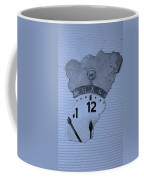 Hans Clock Cyan Coffee Mug