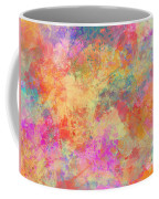 Happiness Abstract Painting Coffee Mug