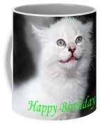 Happy Birthday Kitty Coffee Mug