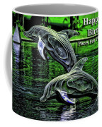 Happy Birthday Pisces Coffee Mug by Beauty For God