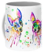 Happy Chihuahuas Coffee Mug