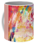 Happy Day- Abstract Art By Linda Woods Coffee Mug