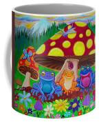 Happy Frog Meadows Coffee Mug