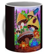 Happy Frog Valley Coffee Mug