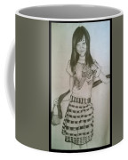 Happy Girl In Naga Outfit  Coffee Mug