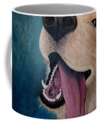 Happy Golden Retriever Coffee Mug
