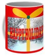 Happy Holidays 21 Coffee Mug