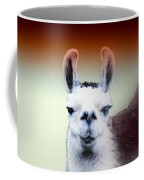 Happy Llama Coffee Mug by Myrna Migala