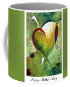 Happy Mother's Day By Madart Coffee Mug
