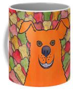 Happy Orange Doggy Dog Coffee Mug