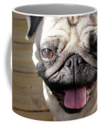 Happy Pug Coffee Mug