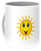 Happy Smiling Sun Coffee Mug