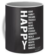 Happy Things Coffee Mug