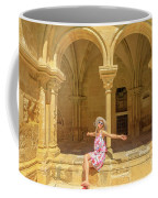 Happy Tourist Visits Coimbra Coffee Mug