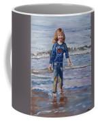 Happy With Sea And Sand Coffee Mug