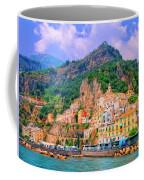 Harbor At Amalfi Coffee Mug