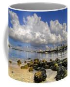 Harbor Clouds At Boynton Beach Inlet Coffee Mug