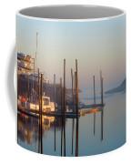 Harbor In Fog Coffee Mug