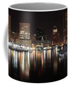 Harbor Nights - Baltimore Skyline Coffee Mug
