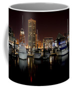 Harbor Nights - Trade Center In Focus Coffee Mug
