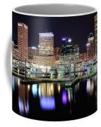 Harbor Nights In Baltimore Coffee Mug