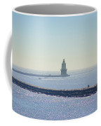 Harbor Of Refuge Lighthouse  Lewes Delaware Coffee Mug