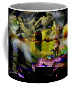 Harbor Scene Through A Vodka Bottle Coffee Mug
