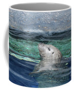 Harbor Seal Poking His Head Out Of The Water Coffee Mug