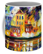Harbor's Flames Coffee Mug