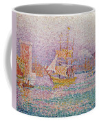 Harbour At Marseilles Coffee Mug