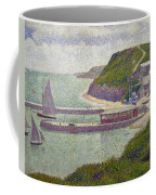 Harbour At Port En Bessin At High Tide Coffee Mug