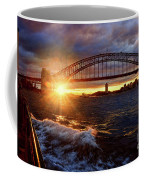 Harbour Bridge Sunset By Kaye Menner Coffee Mug