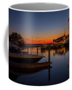 Harbour Town Lighthouse Sunset Coffee Mug