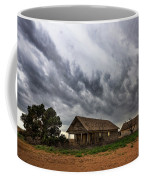 Hard Days - Abandoned Home On West Texas Plains Coffee Mug