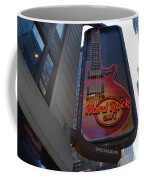 Hard Rock Cafe N Y C Coffee Mug by Rob Hans