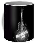 Hard Rock Cafe Sign B-w Coffee Mug