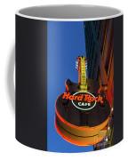 Hard Rock Guitar Detroit Coffee Mug