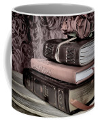 Hardcover Books Coffee Mug
