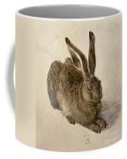 Hare Coffee Mug by Albrecht Durer