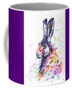 Hare In Grass Coffee Mug