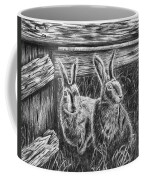 Hare Line  Coffee Mug