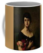 Harlamoff, Alexei 1840-1925 Female Portrait Coffee Mug