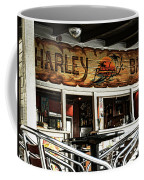 Harley Beach Bar Coffee Mug by Jasna Buncic