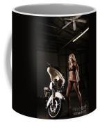 Harley Davidson Motorcycle Bikini  Coffee Mug