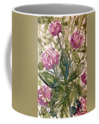 'harmony, Wisdom And Understanding From The Red Clover' Coffee Mug