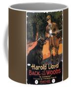 Harold Lloyd In Back To The Woods 1919 Coffee Mug