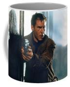 Harrison Ford As Rick Deckard A Blade Runner  In Blade Runner 1982 Coffee Mug