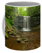 Harrison Wrights Falls In The Forest Coffee Mug