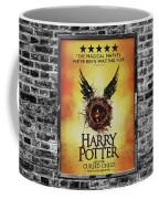 Harry Potter London Theatre Poster Coffee Mug